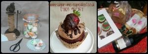 Meringues Strawberry Cupcake & Gift Hamper