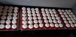 Branded Fist Pump Cupcakes