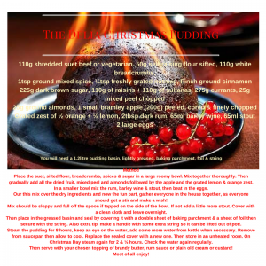 The Best Christmas Pudding Recipe Ever